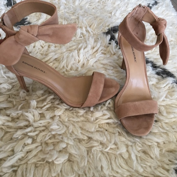 6a6b143beee Banana Republic Shoes - Banana republic bare high heel sandals